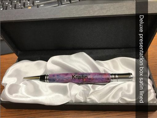 Custom Made Masonic Inlay Executive Style Handcrafted Ballpoint Pen