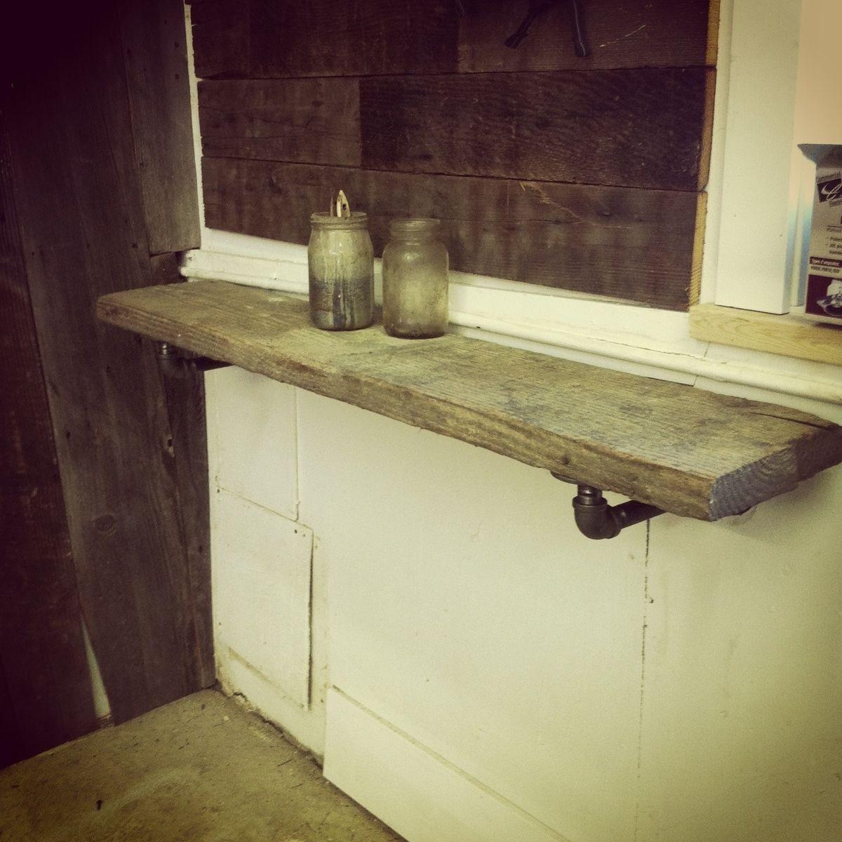 Custom Industrial Shelf Bracket By J Amp S Reclaimed Wood