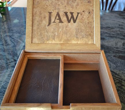 Custom Made Keepsake Box For A Hunter
