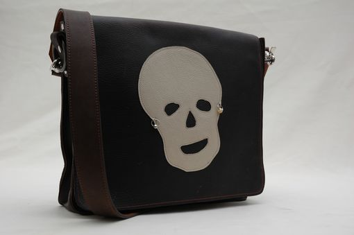 Custom Made Custom Made Leather Messenger Bag