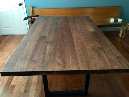 Custom Made Simple Modern Elegant Dining Table