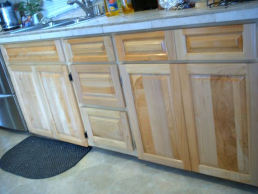 Custom Made Cabinet Facelft.