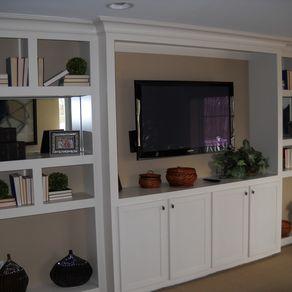 Custom Built Wall Units & Custom Made Built In TV Wall Units ...