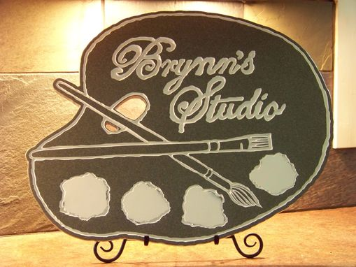 Custom Made Studio Sign