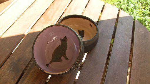 Custom Made Delightful Cat Dishes