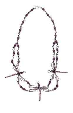 Custom Made Dragonfly  Necklace