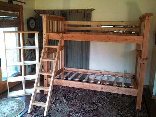 Custom Made Back To The Mountain Twin/Twin Craftsman Bunk Bed All Douglas Fir