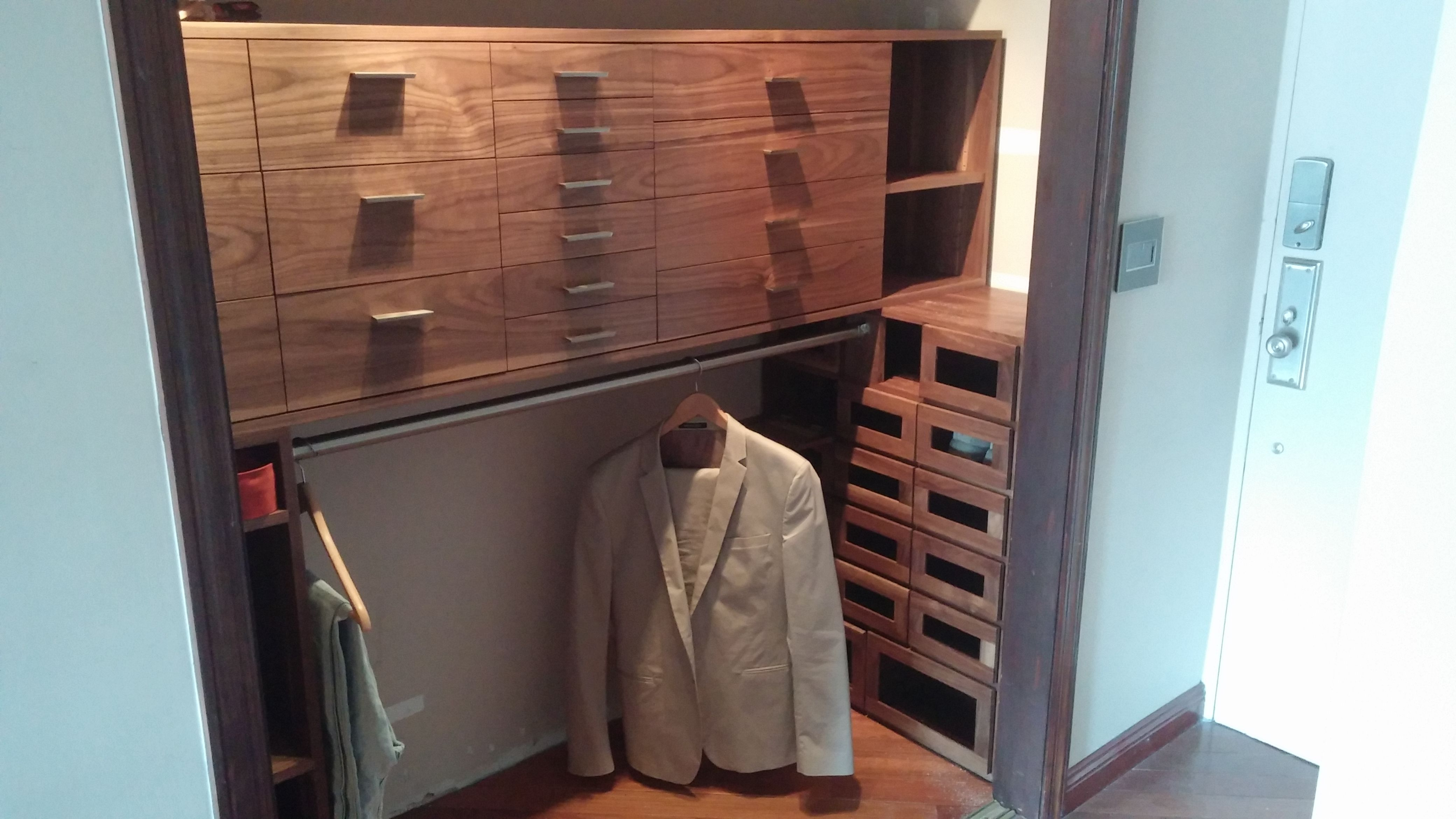 Hand Crafted Custom Closet By Kinderling Wood Custommade Com