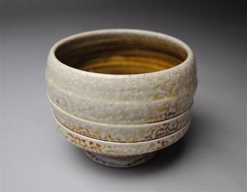 Custom Made Tea Bowl Handmade Clay Soda Fired