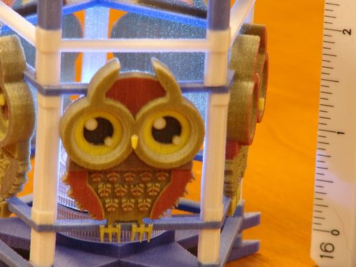 Custom Made Custom Toys- Owl Night Light