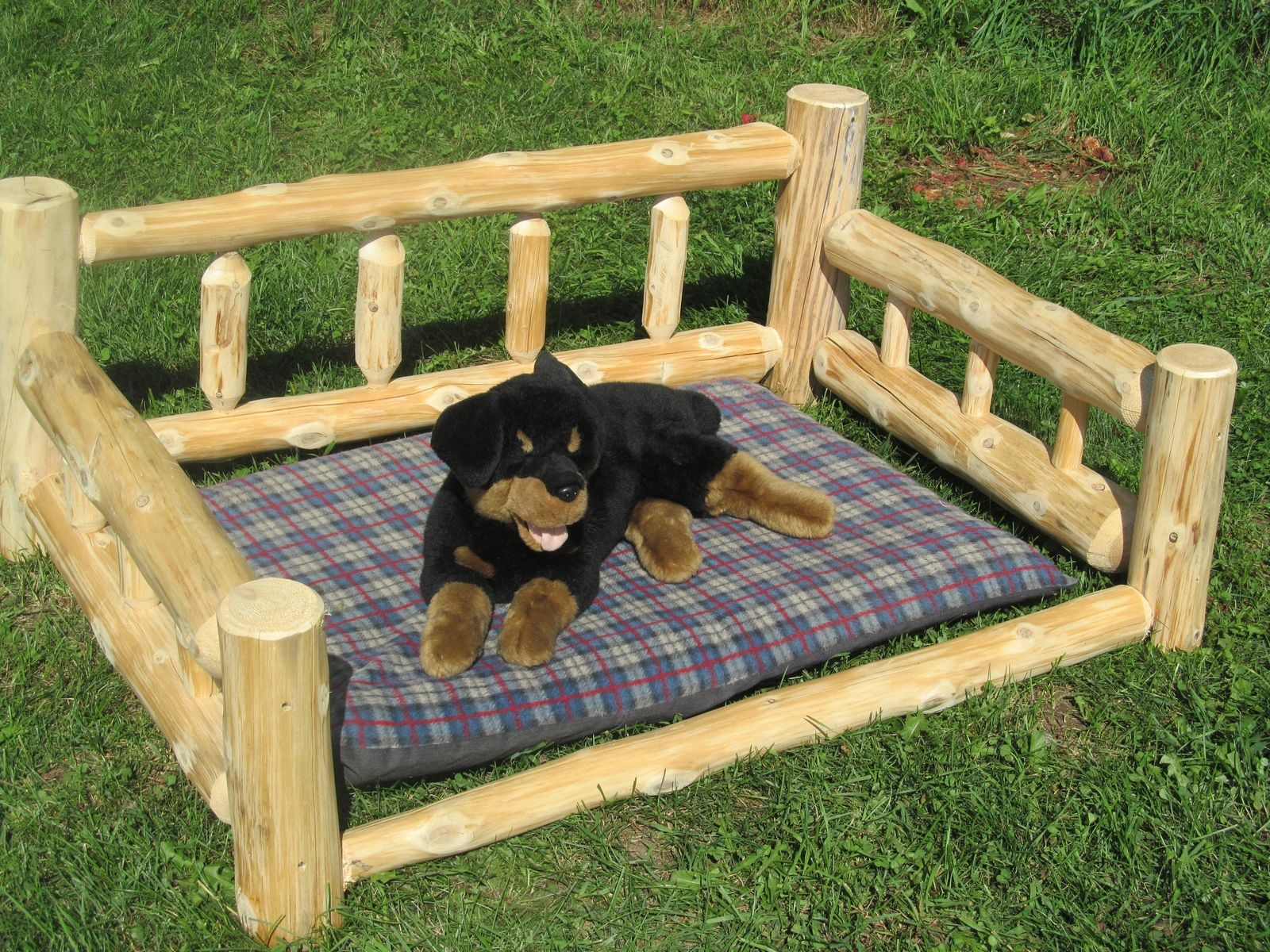 custom dog bedvermont timbersmiths | custommade