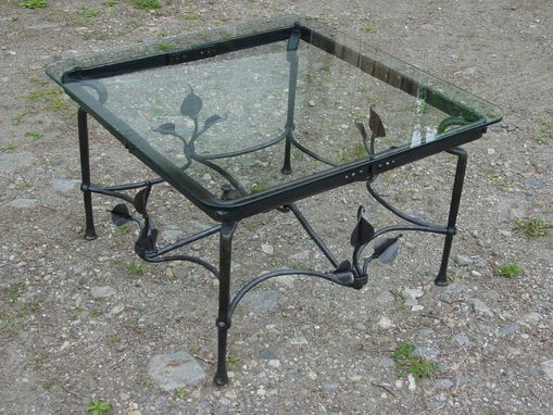 Custom Made Knot A Leaf Table