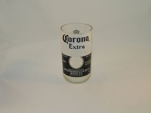 Custom Made Beer Bottle Tumbler: Corona Extra 18oz