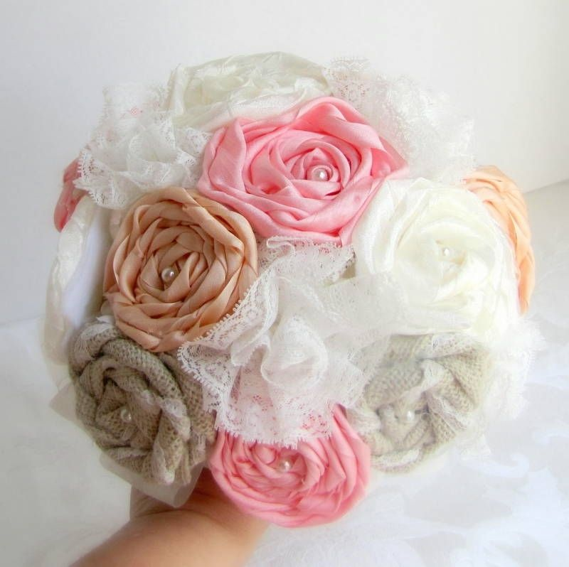Custom Silk Ribbon Flower Bouquet by Angela\'s Artistic Bouquets ...