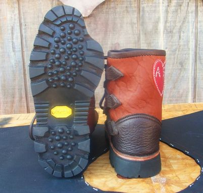 Custom Made 9 Toe Joe's Second Pair Made From Buffalo Leather