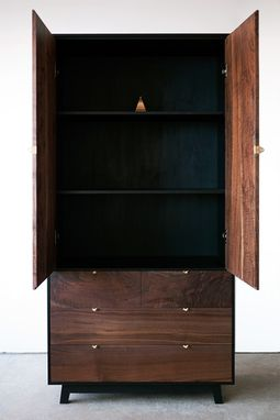 Custom Made Char Armoire