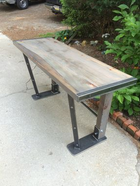 Custom Made Industrial Design Table Or Desk