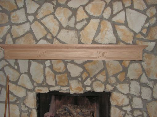 Custom Made Over The Hearth Mantle