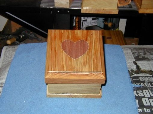 Custom Made Recipe, Card File, Or Photo Dovetail Boxes