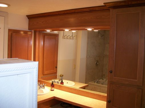 Custom Made Cabinets In Beech