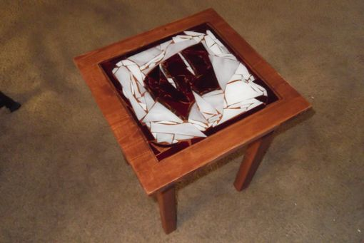 Custom Made Wisconsin End Tables