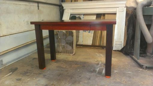 Custom Made Wenge And Cocobolo Writing Desk