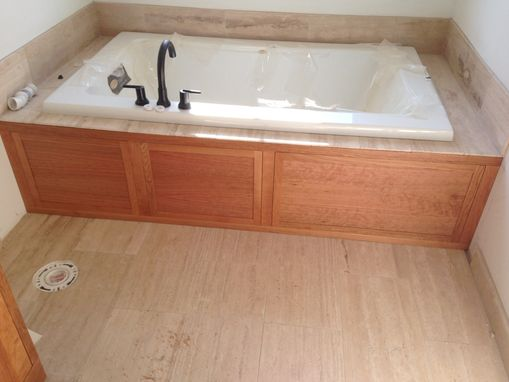 Custom Made Bathroom Vanity ( Cherry )