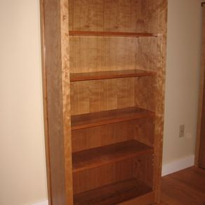 Mission style arts crafts style craftsman style for Craftsman style bookcase plans