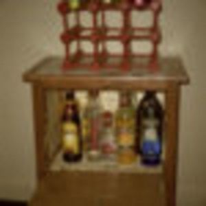 Custom Made Custom Handmade Liquor Cabinet