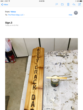 Custom Made Whimsical Bar Sign