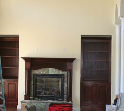 Custom Made Hillhouse Office Bookcases
