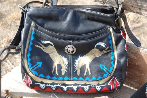 Custom Made Hand Painted Western Purses
