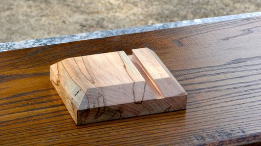 Custom Made Ambrosia Maple Ipad Stand