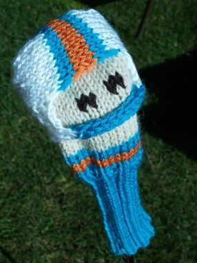 Custom Made Miami Dolphins Golf Club Cover