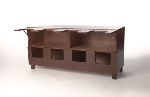 Custom Made Gianni Sideboard - Clam Doors