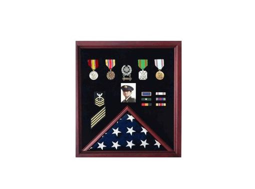 Custom Made Flag Display Case