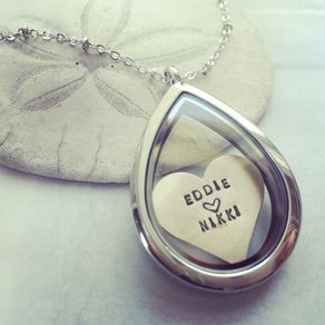 custom personalized gold customized il locket etsy lockets market necklace engraved silver