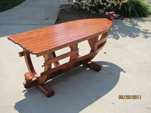 Custom Made Boat Coffee Table