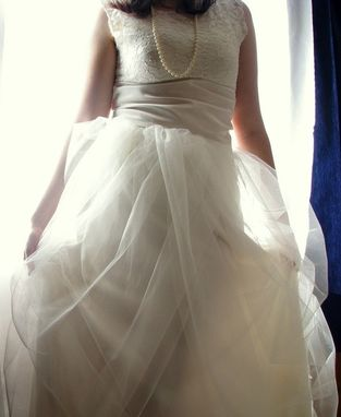 Custom Made Ivory Tulle Bridal Skirt