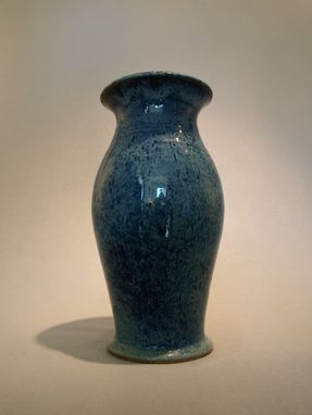 Custom Made Speckled Blue Vase