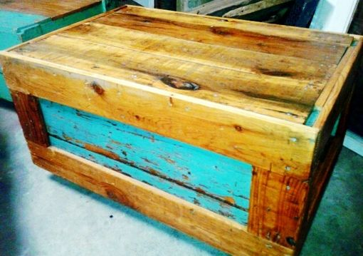 Custom Made The Teal Roller Table
