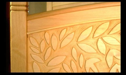 Custom Made Carved Teester Bed