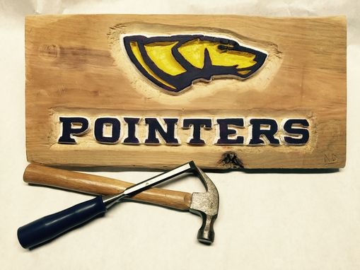 Custom Made Packers Hand Carved/Painted Signs
