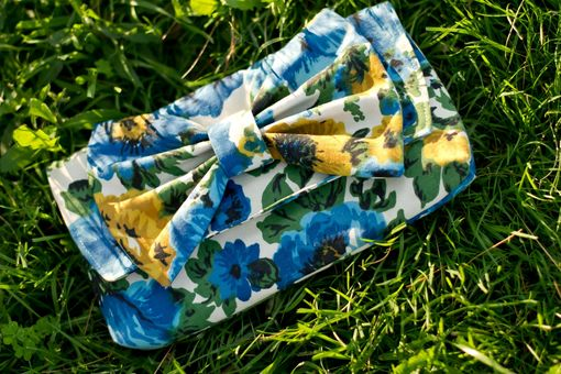 Custom Made Upholstery Fabric Clutch