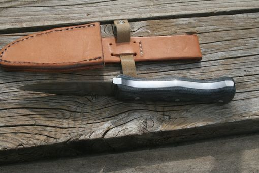 Custom Made Hunting Knife 1
