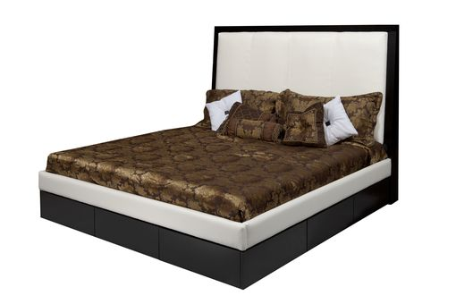 Custom Made The Stacie Mod Leather Bed