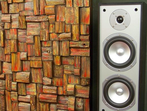 Custom Made Audio Diffusers, Art Of Acoustic Panels