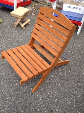 Custom Made Custom Hand Painted Or Stained Patio Chairs