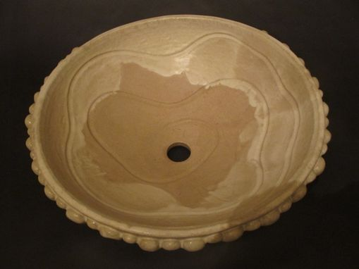 Custom Made Handmade Pottery Sink Vessel