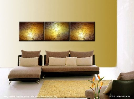 Custom Made Abstract Painting, Textured Metallic Art, Large Gold Paintings, Original Bronze Reflective Paintings